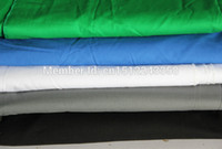 Wholesale solid color background Muslin Video Photo Photography Studio Screen Backdrop green PS Cutout Customized10x10 FT