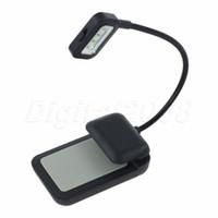 best kindle light - Best Seling Black LED E reader Clip Reading Book Light Lamp with Flexible Arm For KINDLE NOOK EBook Reader