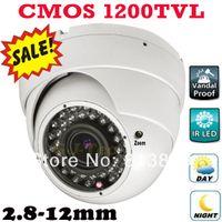 best zoom security camera - Best selling TVL vari focal zoom lens indoor dome camera vandal proof security surveillance digital video cctv camera IR CUT