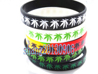 Wholesale Fashion Bob Marley Wristband Silicone Bracelets for men Mix color