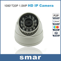 Wholesale Mini IP Camera P Home Security Indoor MP HD Network CCTV Camera Dome Onvif P2P Pluy and Play