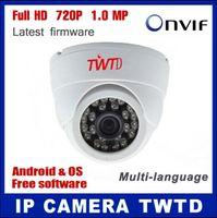 Wholesale IP camera NEW HD P Mega pixel Network CCTV camera with ONVIF indoor dome