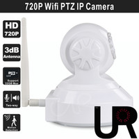 app resolution - 720P H Onvif Wifi PTZ IP Nanny Camera with P2P Network Smartphone Android and iOS App MP Resolution