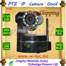 Wholesale Onvif Suppor G SD Card Plug and play WIFI X Optical Zoom PTZ Alarm HD P Dual talk Baby care IP Camera CMS Motion Alarm