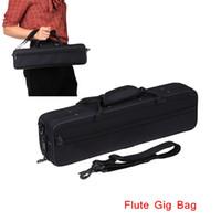 Wholesale D Water resistant Flute Gig Bag Oxford Cloth Design for Western Concert Flute with Adjustable Shoulder Strap Top Qualiy