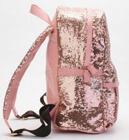 bling backpack - New Paillette Bling Bag Women Backpack Women S Colorful Canvas Backpacks Women Travel Bag College Book School Bag