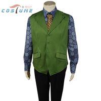 batman costume game - Batman The Dark Knight Joker Movie Cosplay Costume Shirt Vest Included Custom Made