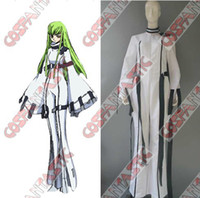 Cheap Wholesale Anime character Classical Code Geass CC Cosplay Costume for Halloween women classic costumes for Code geass cosplay