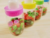 Cheap 25pcs Bottle Rubber Eraser Kids Children's Boys Girls Gift Birthday Party Bag Fillers
