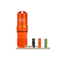 Wholesale EDCGEAR Black Green Orange Outdoor Waterproof Aluminum Alloy Matchcap