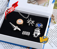 Wholesale Anime Katekyo Hitman Reborn Guardian Vongola Hell Ring Rings And Necklace