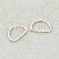 Wholesale 3 quot mm Non Welded Dee Rings for Webbing D Buckle Bag Craft F128F3
