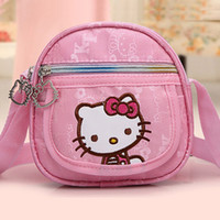 Wholesale New Children School Bag Mochila Infantil Hello Kitty Kids School Bag Baby Girls Messenger Bag School Bag SBG001