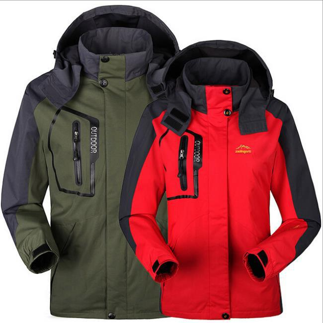 Women/Men's Hiking Jacket 2016 Mens Lightweight Waterproof Jacket ...