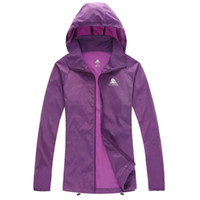 Wholesale NEW Outdoor clothing Movement Jackets Skin Windbreaker Speed drying Sun protection clothing hiking jacket