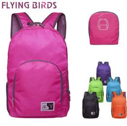 Wholesale FLYING BIRDS waterproof backpack men s travel bags for women backpacks hiking backpack Foldable outdoor sport bag new LS5867fb