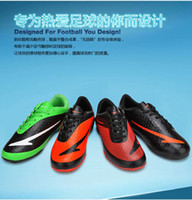 Wholesale professional flat bottomed football boots soccer cleats shoes trail running shoe racing running shoe