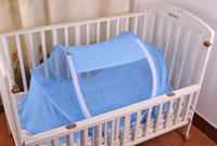 baby safety net - cm Sweet Baby Bed Mosquito Net Baby Tent Foldable Portable Safety Multi Function Suitable for babies
