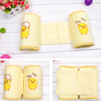 baby cribs safety - baby fixed pillow Cotton baby sleeping Safety Protection finalize Yellow ducklings correcting flat head special pillow EA020