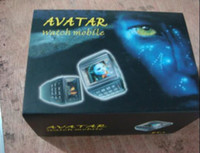 Wholesale AVATAR watch phone watch mobile phone numberic keypad