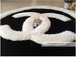 70cm Envío gratuito * 70cm de la moda alfombra super suave / modernas alfombras peludas y alfombras para el hogar sala de estar, para la cocina