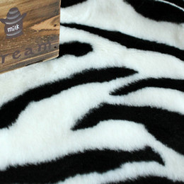 Wholesale 75CM CM rectangle zebra fashionable American style Modern rugs and carpets for home living room Oriental carpets
