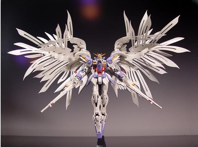 1:100 MG Gundam 20cm Wing Zero Wing Fighter MG028 Anime