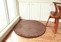 acrylic sofa table - hot sale Silk wool circular carpet computer chair sitting room tea table of sofa bed bedroom carpet carpet custom made