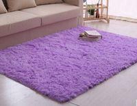 Wholesale 2015 Long Pattern CM Shaggy Soft Carpet Area Rug Slip Resistant Door Mat Ground Floor Mat For Living Room