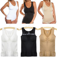 Cheap 2015 Promotion New Fashion Women Body Shaper Genie Bra Shapewear Vest Top Slimming Camisole Spanx 12