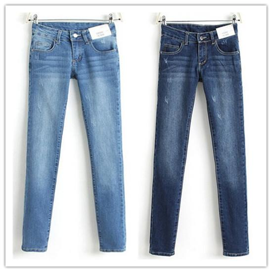 Woman Pencil Jeans Denim Slim Figure Ladies&39Sexy Casual Jeans Plus