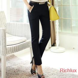Wholesale Quality Women s Pants Plus Size Casual Long Trousers for Office Ladies business Work Khaki Color Harem Pants Suit Trousers J1990