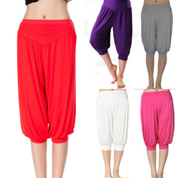 Wholesale Yoga meditation Bloomers Pants Harem Pants Aladdin Pants Boho Short Trousers