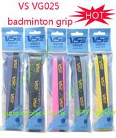 Wholesale made in TaiWan Genuine VS badminton grip VG025 badminton tennis squash racquet grip overgrip