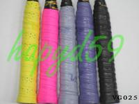 Wholesale free ship Genuine VS badminton tennis squash over grip VG025 badminton racquet grip anti slip strap