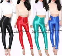 aa disco pant - 2015 fashion summer women American apparel AA disco pants vintage slim elastic high waist flattering Leggings