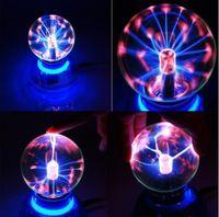 ball generator - Novelty S0009 Magic Plasma Ball Crystal Neon Sphere Negative Ion Generator Car Interior Light eliminate fatigue