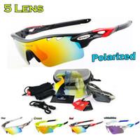 Wholesale Cycling glasses women Interchangeable Lens Cycling Eyewear Men Polarized Sport Sunglasses gafas ciclismo