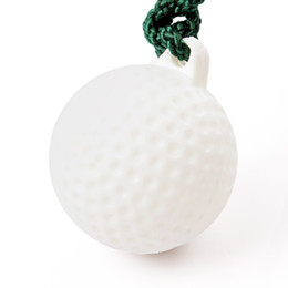 Wholesale Hot Rope Golf Driving Ball Swing Hit Practice Training Aid Retractable Golf Ball Rope
