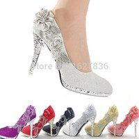 beige wedge pump - 2015 Glitter Gorgeous Wedding Bridal Evening Party Crystal High Heels Women Shoes Sexy Woman Pumps Fashion Bridal Shoes color