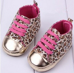 Wholesale-Free Shipping 1 pair leopard Sports Brand BABY Sneakers KIDS Shoes Cheap Boy Girl soft shoes, slip-resistant toddler shoes