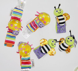 20Pcs Lamaze Garden Bug Wrist Rattle Foot finder Toddler Infant Toys