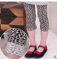 Wholesale Girls Children Kids toddler Tights Leggings Pants Leopard grain Slim Fit Fashion Leggings