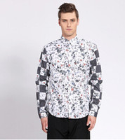 arm tide - europe direct selling and the united states arm printed shirt tide male new men s cultivate one s morality men