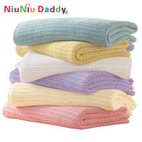 babies high quality blanket - High quality Cellular Baby Blanket Cotton blanket x90cm