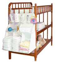 Cheap 2015 Brand Diapers organizer baby bed hanging bag portable storage bedding set 63*48cm multy style waterproof accessories