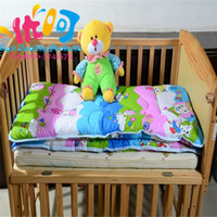 baby comforters small - Cotton Baby Quilt X110CM Child Quilt Air Conditioning Bedspread Bed Cover Summer Comforter Small