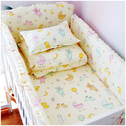 Wholesale 2015 HOT sets baby bedding set cotton crib bumper baby cot sets baby bed bumper