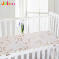 bamboo hose - new summer baby pure color bed set hose pattern bamboo kinder cool breathable sleep pad baby sheet