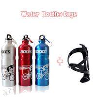 aluminium sports bottles - 2pcs Aluminium Alloy Sport Water Bottle High Elasticity Plastic Bottle Cage For Cycling Bottle Kit Bottle Cage